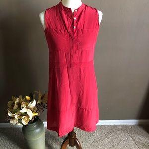 Madewell Silk Shirt Dress